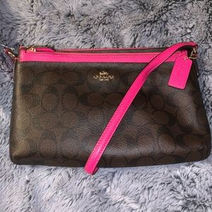 Coach Signature Crossbody with Pouch